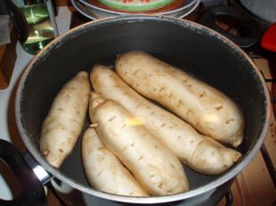 Torta di patate dolci o americane for Patate dolci americane